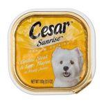 César - Dog Food Sunrise Steak & Eggs 0023100335810  / UPC 023100335810