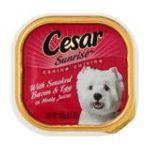 César - Canine Cuisine Sunrise With Smoked Bacon & Egg 0023100335827  / UPC 023100335827