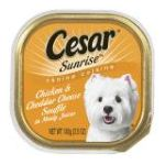 Pedigree - Sunrise Canine Cuisine For Small Dogs Chicken & Cheddar Cheese Cans 0023100335834  / UPC 023100335834