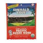 Emerald -  Emerald Cove Pacific Sushi Nori 50 Sheets 50 sheets 0023547300525