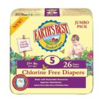 Earth's Best -  Diapers Jumbo Pack Size 5 26 diapers 0023923050600