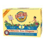 Earth's Best -  Chlorine Free Diapers Value Pack Size 3 0023923052512