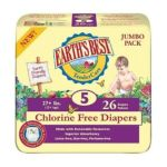 Earth's Best -  Tendercare Chlorine Free Diapers Size 5 27+ Lb 0023923053601