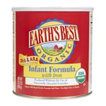 Earth's Best -  Organic Infant Formula Dairy W Dha Size 0023923100459