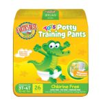 Earth's Best -  Tendercare Chlorine Free Tots Potty Training Pants 40 lb, 26 training pants 0023923101647
