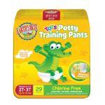 Earth's Best -  Tendercare Chlorine Free Tots Potty Training Pants 34 lb, 29 training pants 0023923101654