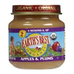 Earth's Best -  Apples & Plums 0023923200142