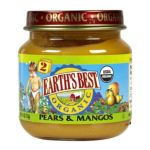 Earth's Best -  2nd Foods Pears & Mangos 0023923200210