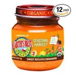 Earth's Best -  Organic Baby Food Stage 2 Ages 6 Months And Up Sweet Potato 0023923200722