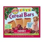 Earth's Best -  Tots Cereal Bars Organic Cherry 0023923201606