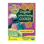 Earth's Best -  Letter Of The Day Cookies Oatmeal Cinnamon 0023923202009