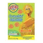 Earth's Best -  Sesame Street Crunchin' Crackers Cheddar 0023923202108