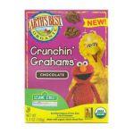 Earth's Best -  Sesame Street Organic Crunchin Grahams Chocolate 6 Units 0023923203020