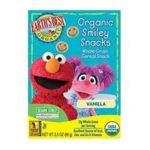 Earth's Best -  Sesame Street Organic Vanilla Smiley Snacks 0023923203433