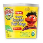 Earth's Best -  Organic Snackin' Fruit Rings Banana 0023923203556