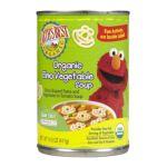 Earth's Best -  Sesame Street Organic Elmo Vegetable Soup 0023923204256