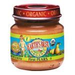 Earth's Best -  Earth's Best Organic 1st Pears Jars 0023923212053