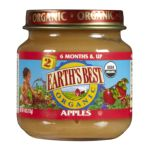 Earth's Best -  Organic 2nd Apples 6 Months & Up Jars 0023923212107