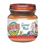 Earth's Best -  Gourmet Meals Creamy Chicken Apple Compote 0023923300835