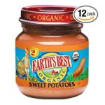 Earth's Best -  Earth's Best Organic 2nd Sweet Potatoes Jars 0023923312319