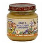 Earth's Best -  2nd Foods Organic Peach Oatmeal Banana 0023923400542