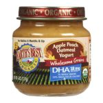 Earth's Best -  Earth's Best Organic Oatmeal Yogurt Apple Peach 0023923412644