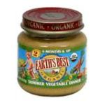 Earth's Best -  2nd Foods Summer Vegetable Dinner 0023923500440