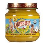 Earth's Best -  2nd Foods Sweet Potatoes & Chicken 0023923500600