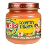 Earth's Best -  Earth's Best Organic Country Dinner 2nd Chicken Brown Rice Jars 0023923512733
