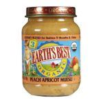 Earth's Best -  Junior Baby Food Organic Peach Apricot And Muesli Jars 0023923712232