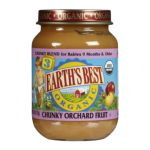 Earth's Best -  Junior Baby Food Organic Chunky Orchard Fruit Jars 0023923712256