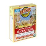 Earth's Best -  Whole Grain Rice Cereal 0023923900011