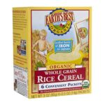 Earth's Best -  Rice Cereal 6 Packets 0023923900219