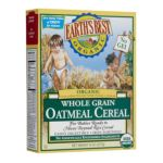 Earth's Best -  Whole Grain Oatmeal Cereal With Bananas 0023923900714