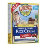 Earth's Best -  Whole Grain Rice Cereal With Apples 0023923900738