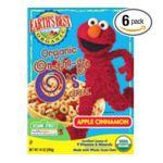 Earth's Best -  Sesame Street Breakfast On-the-go O's Cereal Apple Cinnamon 0023923901322