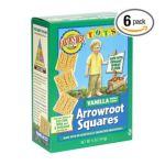 Earth's Best -  Tots Arrowroot Squares 0023923901629