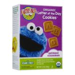 Earth's Best -  Earth's Best Sesame Street Organic Letter Cookies Vanilla Multipack 0023923981812
