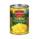 Del monte -  Crushed Pineapple 0024000001652
