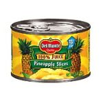 Del monte -  In Its Own Juice Pineapple Slices 0024000001669