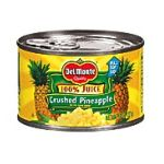 Del monte -  Crushed In Its Own Juice Pineapple 0024000001706