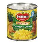 Del monte -  Del Monte Pineapple Chunks in Juice (Case of 24) 0024000001973