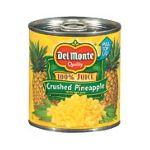 Del monte -  Fresh Cut Crushed Pineapple 0024000001980