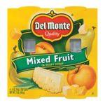 Del monte -  Del Monte Fruit Cup, Mixed Fruit, 4 -  (113 g) 0024000002314