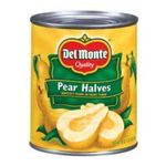 Del monte -  Pear Halves 0024000010227