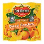 Del monte -  Diced Peaches 0024000012115