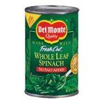 Del monte -  Fresh Cut Leaf Spinach 0024000014812