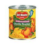 Del monte -  Peaches Chunky Raspberry Flavored 0024000015239