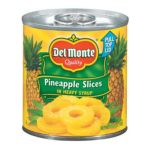 Del monte -  In Heavy Syrup Pineapple Slices 0024000015963