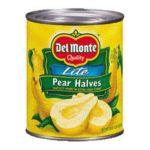 Del monte -  Pear Halves 0024000017462